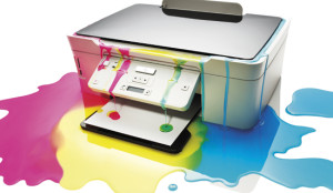 How much waste ink
