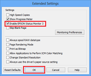How to disable the Epson Status Monitor Utility? | WIC Reset