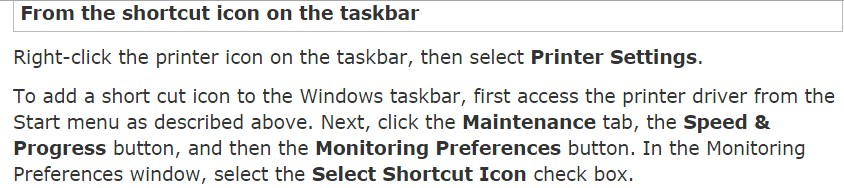 How to check Printer Status in Epson Status Monitor Utility
